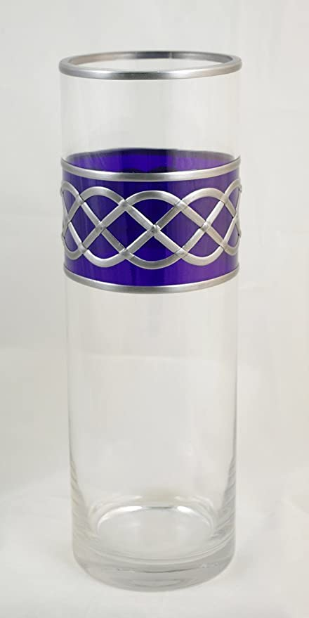Celtic Rope Knot Leaded Glass Vase 30cm Tall Amazon Kitchen