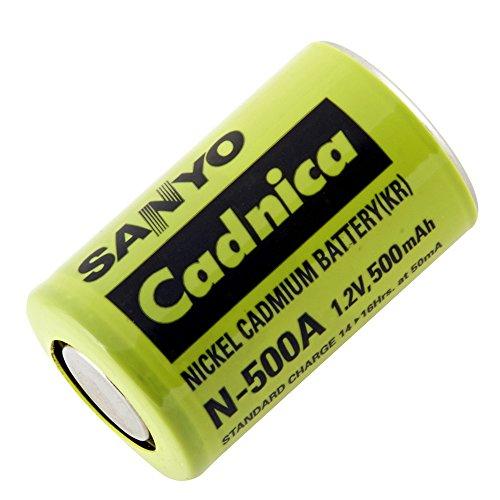 Sanyo 2/3AF-500 SANYO - 1.2V Nickel Cadmium (NICD) Battery (Nicad Sanyo Batteries)