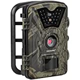 ECOOPRO Trail Camera 12MP 1080P HD Game Hunting Camera with 65ft Infrared Night Vision,90°Detection Angle,24pcs 940nm IR LEDs,2.4 LCD Screen&Waterproof IP66 Wildlife Hunting Cam【Upgraded】