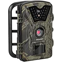 Trail Camera 12MP 1080P HD Game Hunting Camera with 65ft Infrared Night Vision,90°Detection Angle,24pcs 940nm IR LEDs,2.4 LCD Screen&Waterproof IP66 Wildlife Hunting Cam【Upgraded】