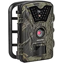 "Trail Camera 12MP 1080P HD Game Hunting Camera with 65ft Infrared Night Vision,90°Detection Angle,24pcs 940nm IR LEDs,2.4"" LCD Screen&Waterproof IP66 Wildlife Hunting Cam【Upgraded】"
