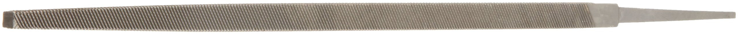 Nicholson Hand File, American Pattern, Double Cut, Square, Coarse, 10'' Length by Apex Tool Group