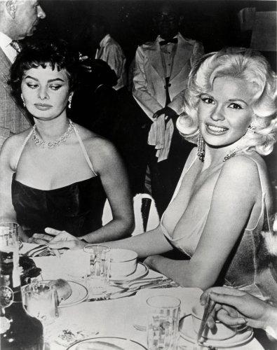 Sophia Loren Jayne Mansfield Poster Photo Hollywood Garage Art 16x20