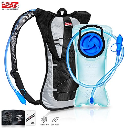 Arltb 2L (70 oz) Hydration Pack with Bladder Hydration Backpack Running Backpack Cycling Hiking Waterproof Backpack Tactical Hydration Pack for Running Cycling Bladder with FDA Approval