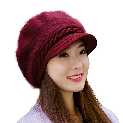 HINDAWI Women Fluffy Crochet Winter