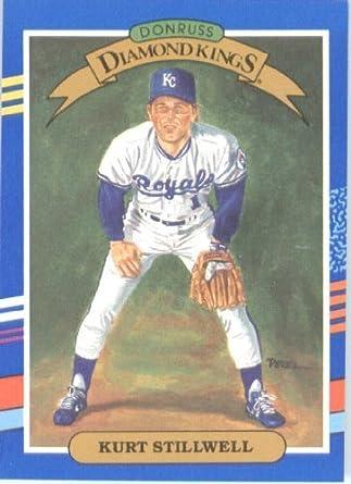 Amazoncom 1991 Donruss Baseball Card 24 Kurt Stillwell