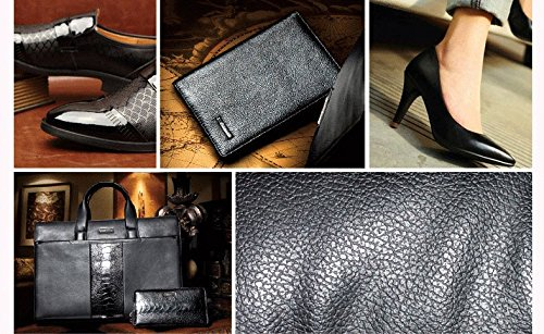 11 in 1 Travel Shoe Shine Kit with PU Leather Sleek Elegant Case Black by TOCGAMT (Image #5)
