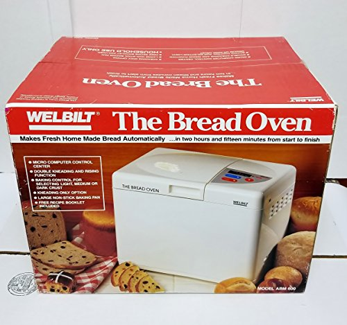 Welbilt ''The Bread Oven'' ABM600 Bread Maker Machine NEW IN BOX by Welbilt (Image #2)