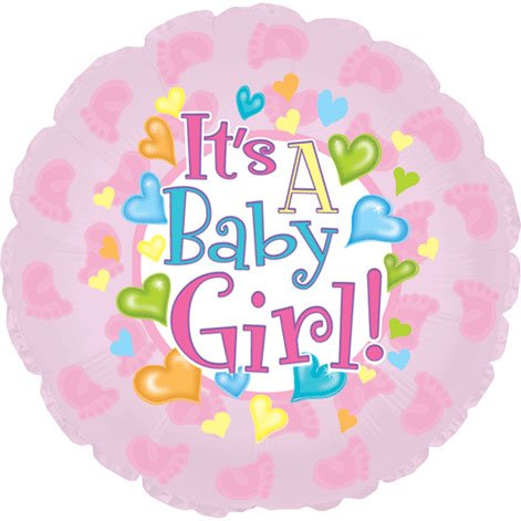 (It's a Baby Girl Feet 18