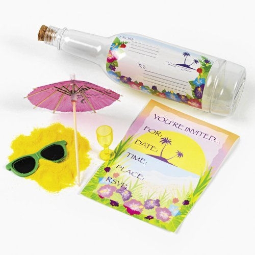 Tropical Invitations In A Bottle (1 dz) [Health and ()