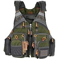 Lixada Fly Fishing Vest,Fishing Safety Life Jacket...