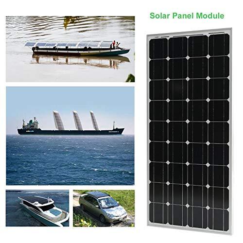 Peppydazi Portable Boat Car Solar Battery Charger 100W Moncrystalline Solar Panel Module by Peppydazi (Image #3)