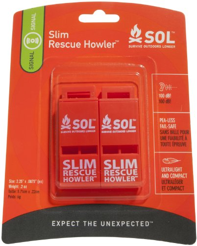 Slim Rescue Howler Whistle