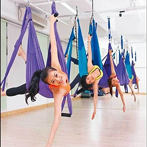amzdeal aerial yoga flying yoga swing trapeze aerial hammock sling inversion tool for gym home fitness amzdeal aerial yoga flying yoga swing trapeze aerial hammock sling      rh   lifestyleupdated