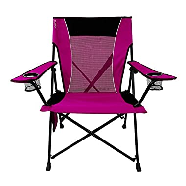 Kijaro Dual Lock Folding Chair (Hanami Pink)