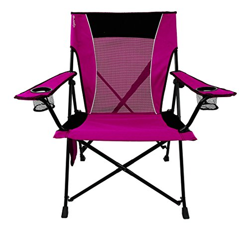 Kijaro Dual Lock Folding Chair (Hanami Pink)