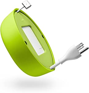 Quirky Powercurl V2 POP 45W Wire Organizer, Green (PPRCP-45GN)