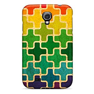 New Style RomeoJr Colorful Pluses Premium Tpu Cover Case For Galaxy S4