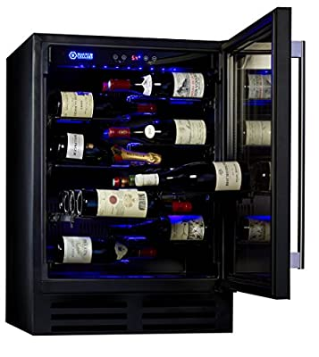 Magnum Cellars Designer Series 42-bottle - Rimless Glass Door