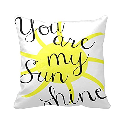 photo regarding You Are My Sunshine Printable referred to as : Goodaily Pillowcase Your self are My Sunlight