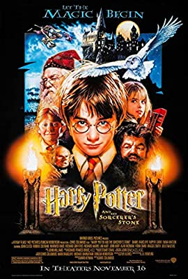 Harry Potter y la piedra filosofal - cartel de la película ...