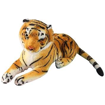 Toyvian Peluches Tiger Juguetes Animales Leopardo Guepardo ...