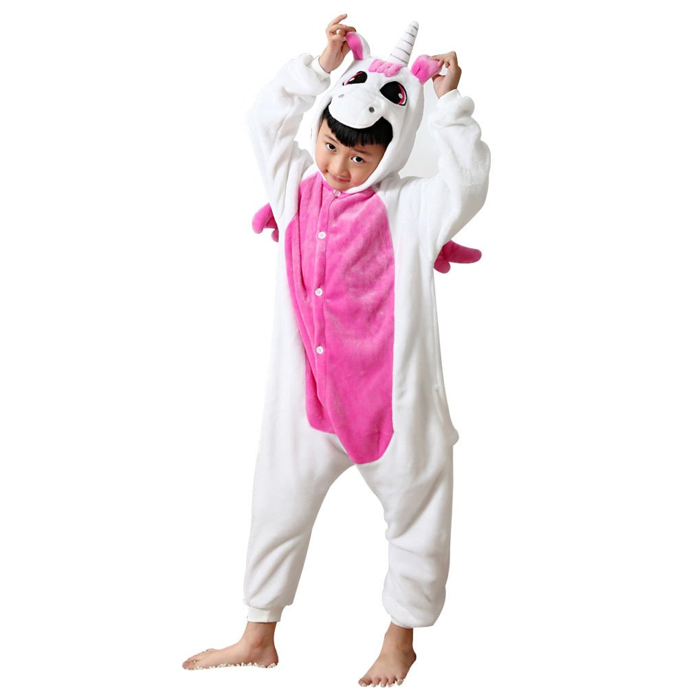missbleu deguisement enfant pyjama combinaison animaux polaire licorne rose ebay. Black Bedroom Furniture Sets. Home Design Ideas