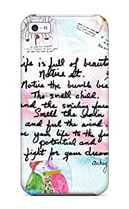 Tpu Shockproof Dirt Proof Funny Life Quotes Cover Case For Iphone 5c