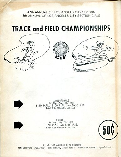 1981-47th-cif-los-angeles-city-section-track-field-championships-media-guide-ex