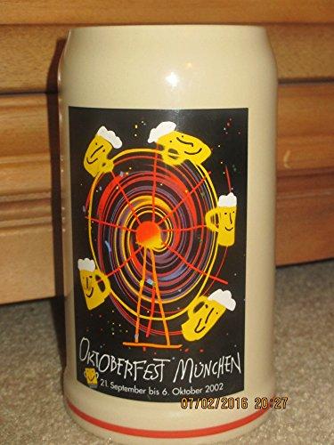 Official 2012 Munich Oktoberfest Stein - 1 Liter