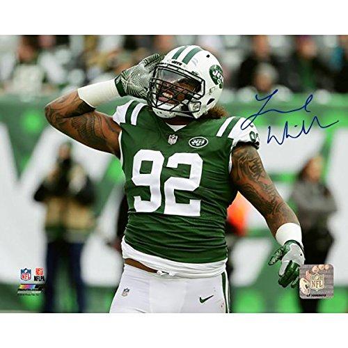 - Leonard Williams New York Jets Signed 8x10 Photo