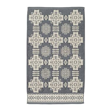 Pendleton Chief Joseph Jacquard Hand Towel, Grey/White