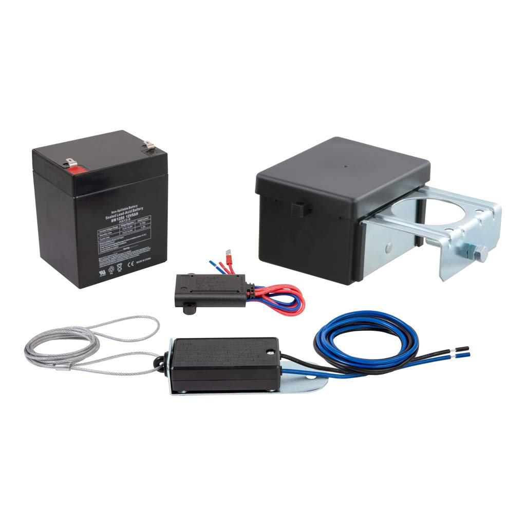 CURT 52028 Soft-Trac 2 Trailer Breakaway Switch Kit System with Battery and Charger by CURT