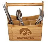 University of Iowa Bamboo Caddy