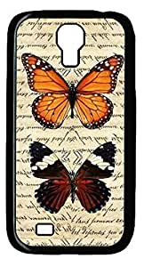 Butterfly Hard Cover Back Iphone 5/5S ,PC Black Iphone 5/5S