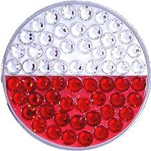 Bella Crystal Poland Flag Hat Clip Set