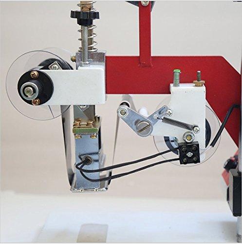 60W Manual hot stamping machine printing machine hot stamping tool thermal ribbon printer plastic bags Steel seal code 220V by YJINGRUI (Image #3)