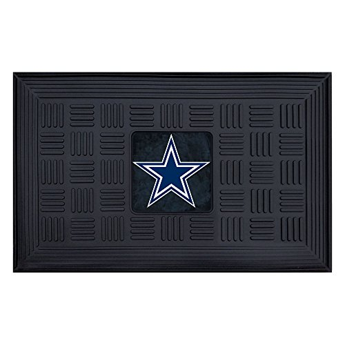 FANMATS NFL Dallas Cowboys Vinyl Door Mat (Dallas Cowboy Door)