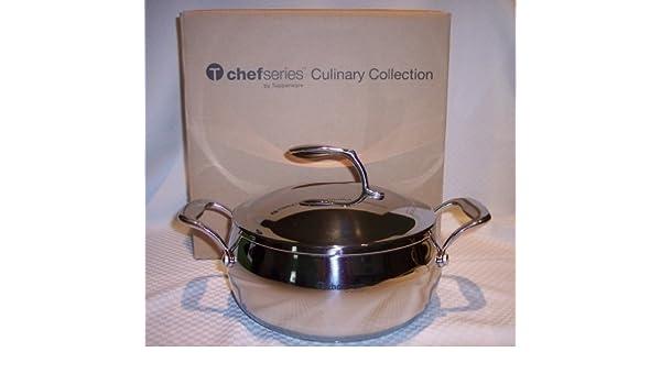 Olla de acero inoxidable Tupperware Chef Serie 4 l: Amazon ...