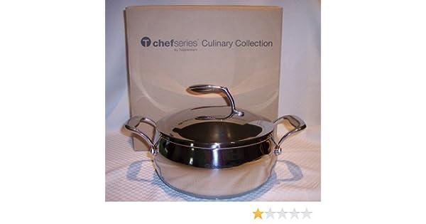 Tupperware Chef serie 20 qt Cacerola cacerola inoxidable