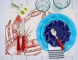 Sophistiplate 46Us3 Petalo Paper Appetizer/Dessert Bowls, Navy (Pack of 30)