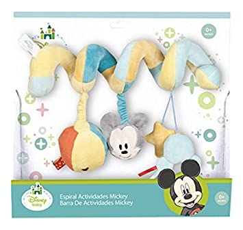 Disney Baby Famosa Softies - Espiral de Actividades Mickey (760013850) (: Amazon.es: Juguetes y juegos
