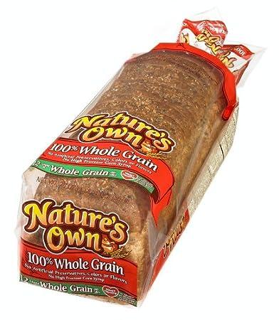 Nature's Own, 100% Whole Grain Bread, 20 oz