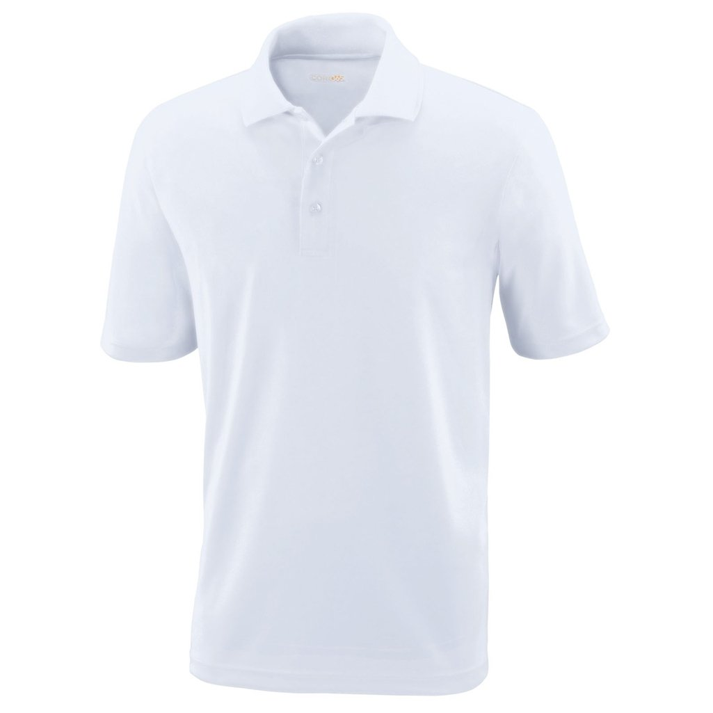 Ash City Mens Origin Polo Performance Shirt (XXXXX-Large, White) by Ash City Apparel