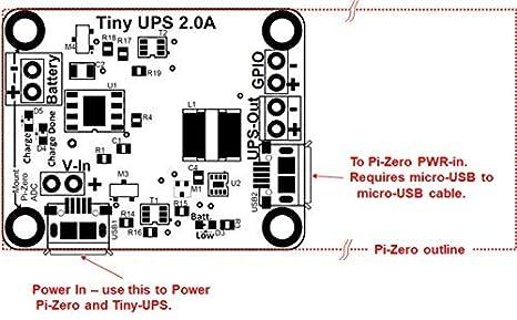Amazon com: Tiny-UPS - Tiny, Fully Functional UPS: Home Audio & Theater