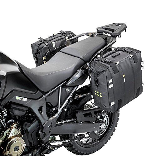 Kriega OS 32 L Satteltasche Motorrad Wasserdicht Bike Touring Tasche Multifunktion Schwarz, KOS32