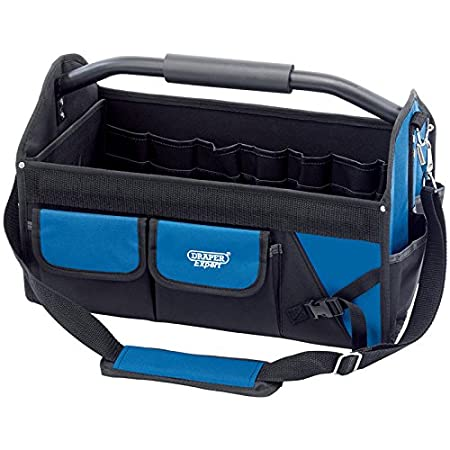 Draper Tools 31593 26 Litre Expert Folding Tool Bag with Heavy Duty Base