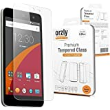 """Orzly - Premium Tempered Glass Screen Protector for WileyFox Swift SmartPhone (Original 5"""" HD Screen Version / 16GB ROM Model - 2015) - 0.24mm Protective Oleophopbic Screen Guard - Transparent"""
