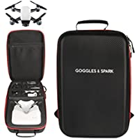 DZT1968 Grownups Outdoor waterproof Resilient strap Backpack Shoulder Bag for DJI Spark Drone with DJI VR Goggles 29X14X44cm