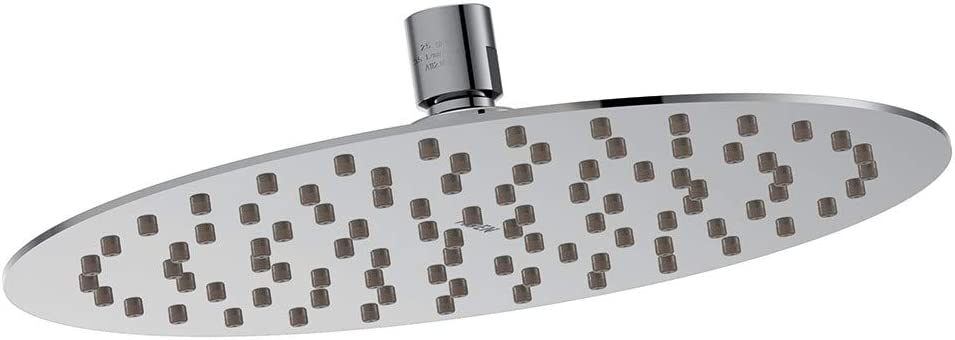 Moen S1001 Collection 8 Razor Thin Rainshower Shower Head, Chrome